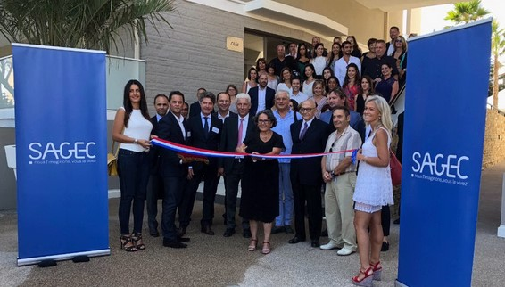 Inauguration résidence Peyregoue à Antibes