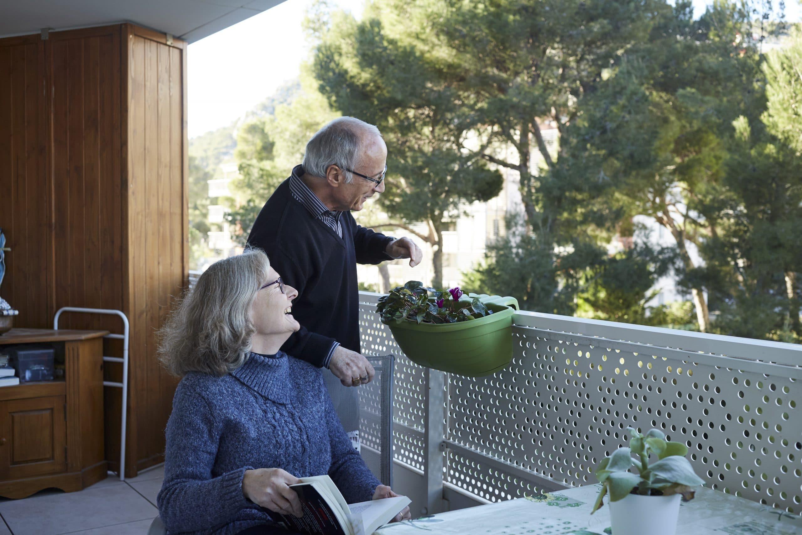 Un couple de retraités - Résidence CDC Habitat - Territoire Sud Ouest