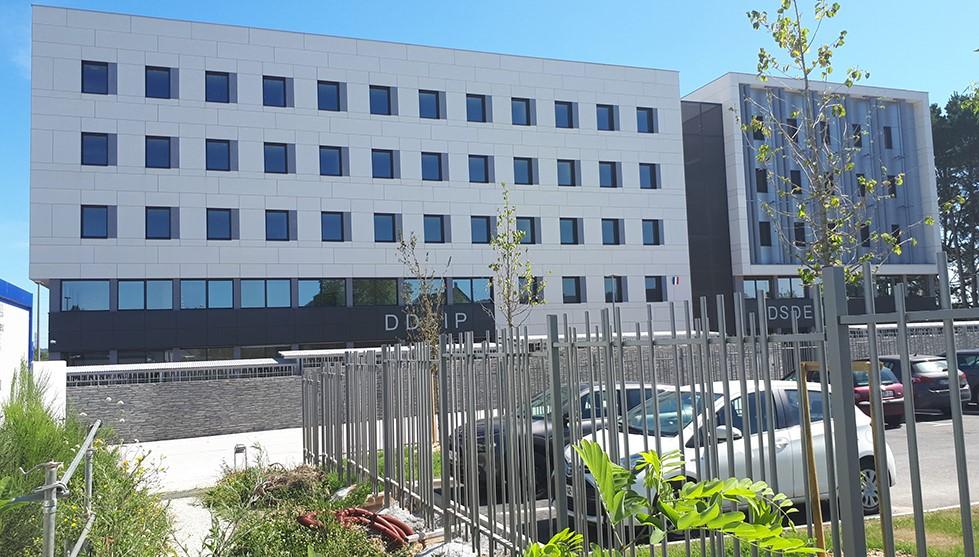 A Vannes (56), 6 500 m2 de bureaux livrés à l'Etat