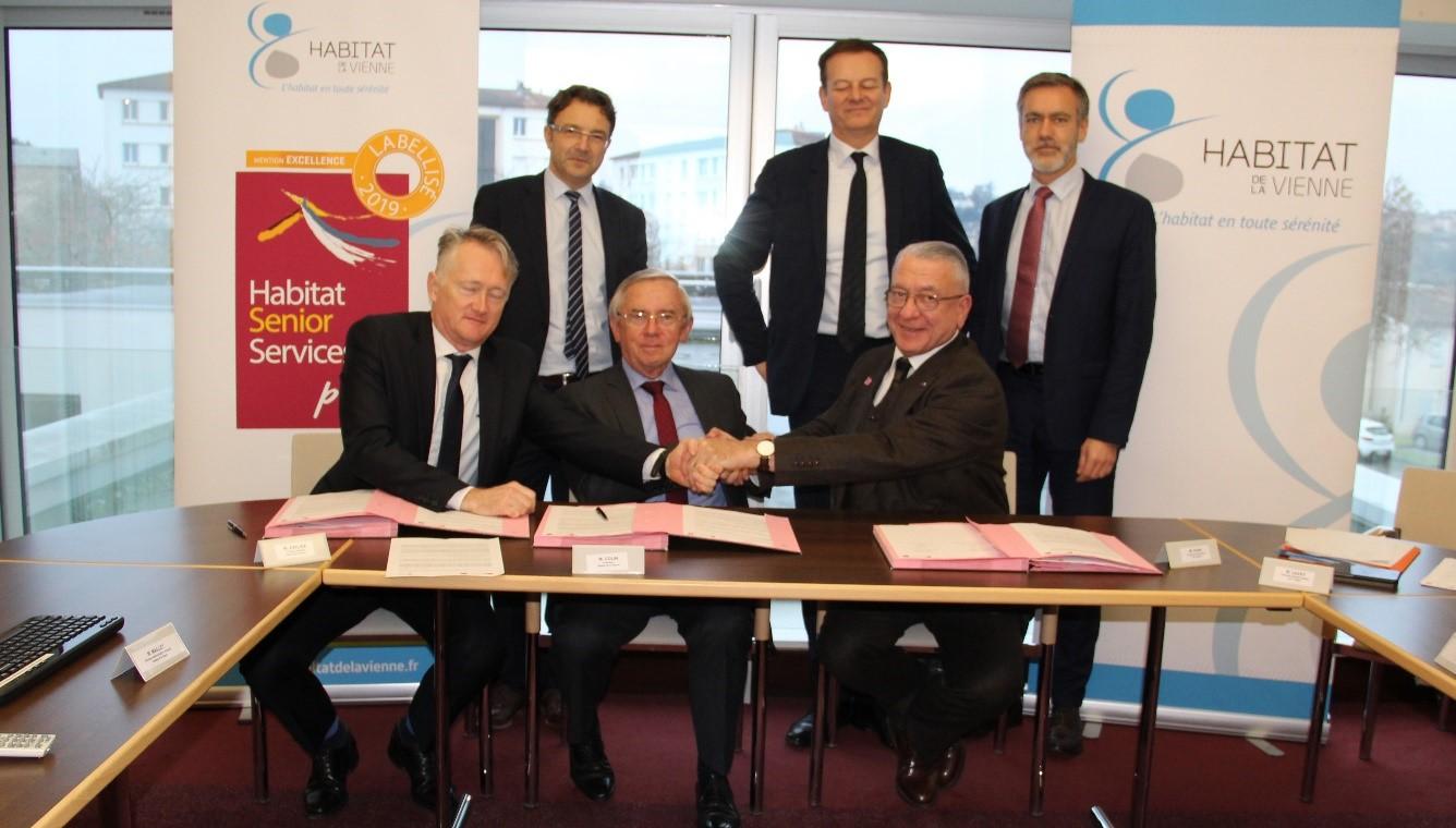 CDC Habitat signe un partenariat avec Habitat de la Vienne