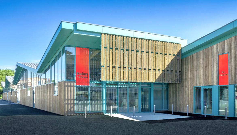 Les nouvelles halles commerciales de Cholet (49) inaugurées