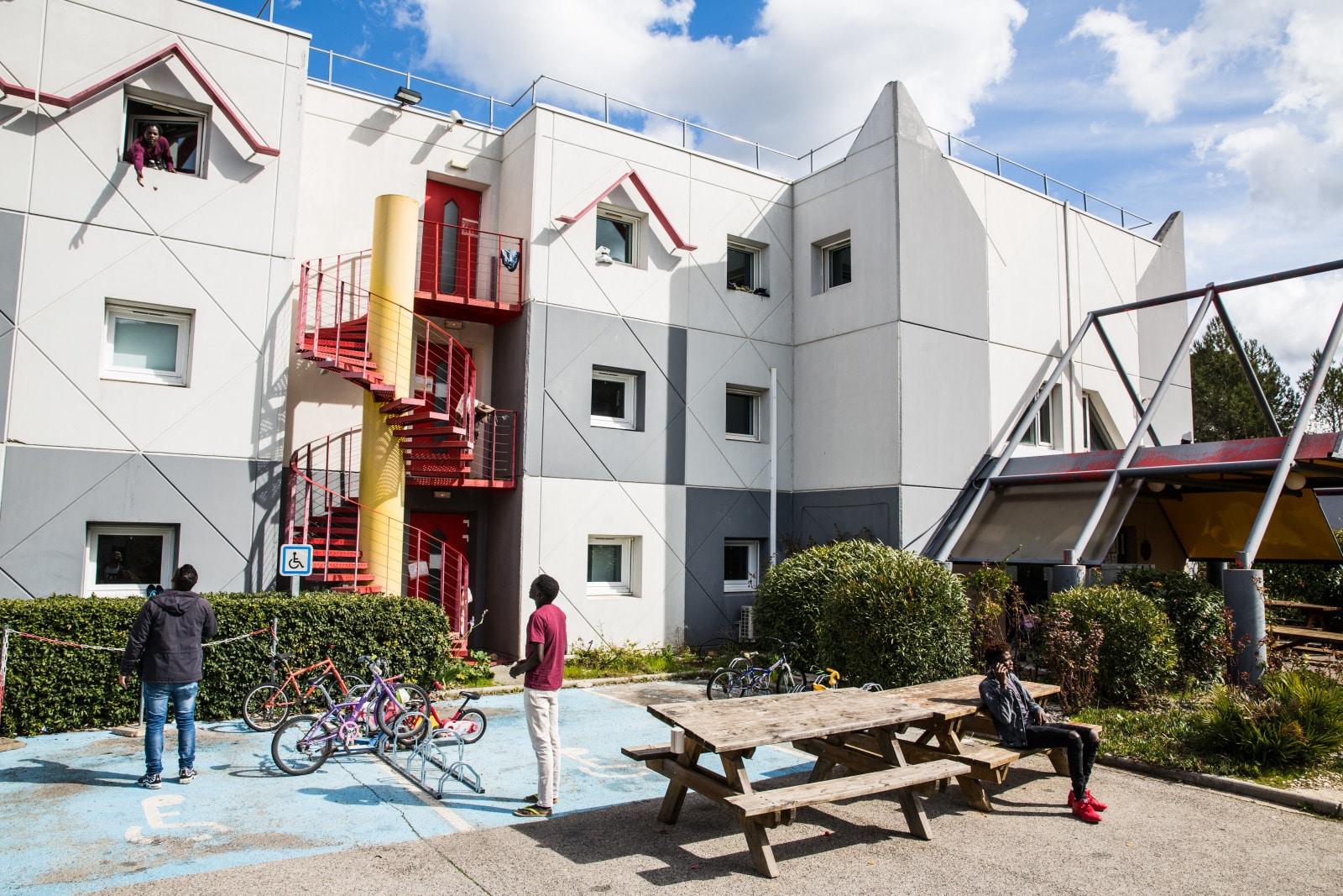 Hémisphère, centre d'hébergement PRADHA - Crédits D.Richard