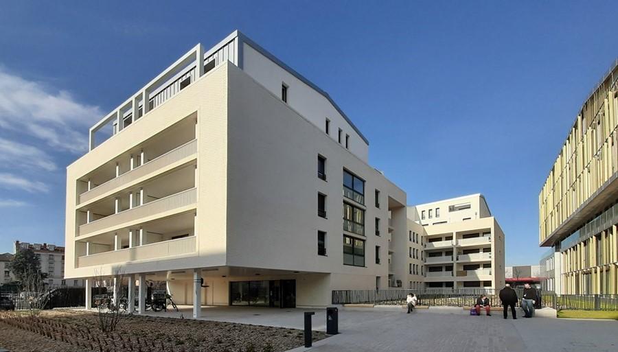 Inauguration de la résidence la Fonderie à Lyon Gerland (69)