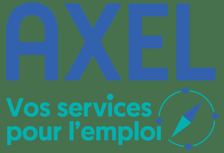 Logo Axel Vos services pour l'emploi en format png
