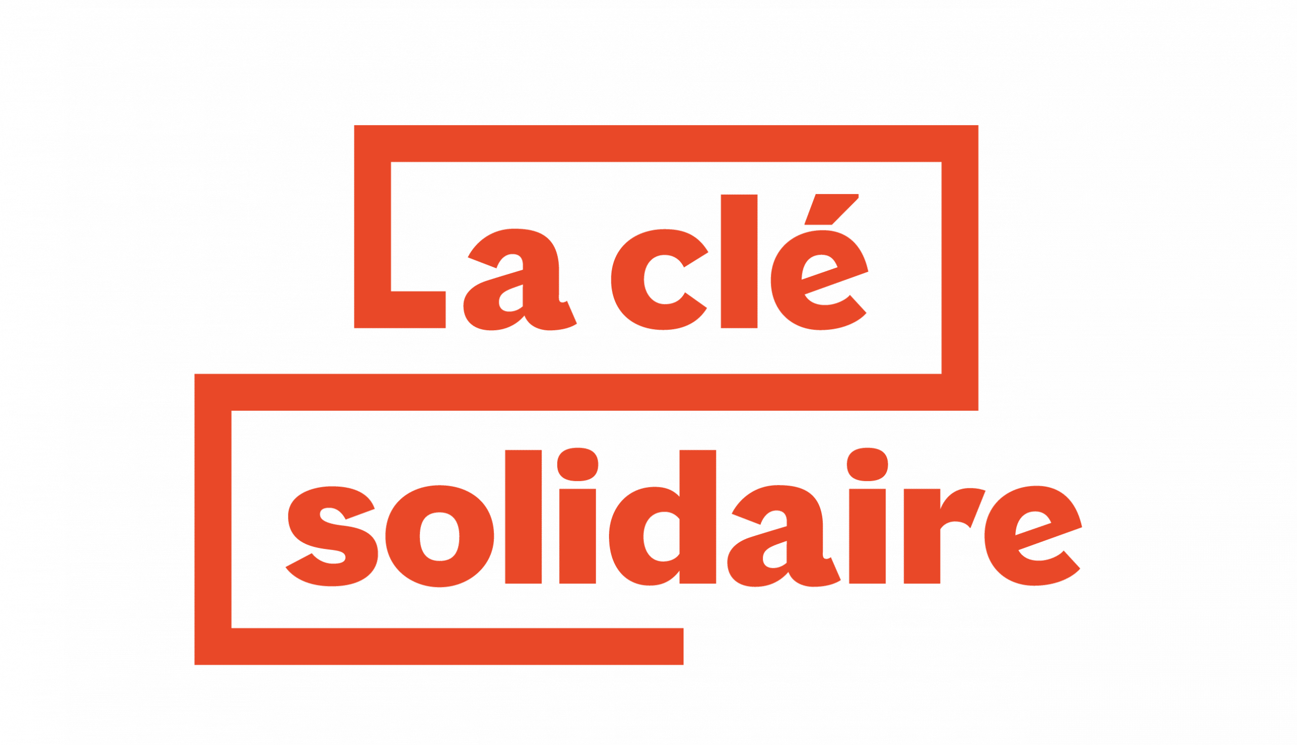Logo de la La clé solidaire en format png