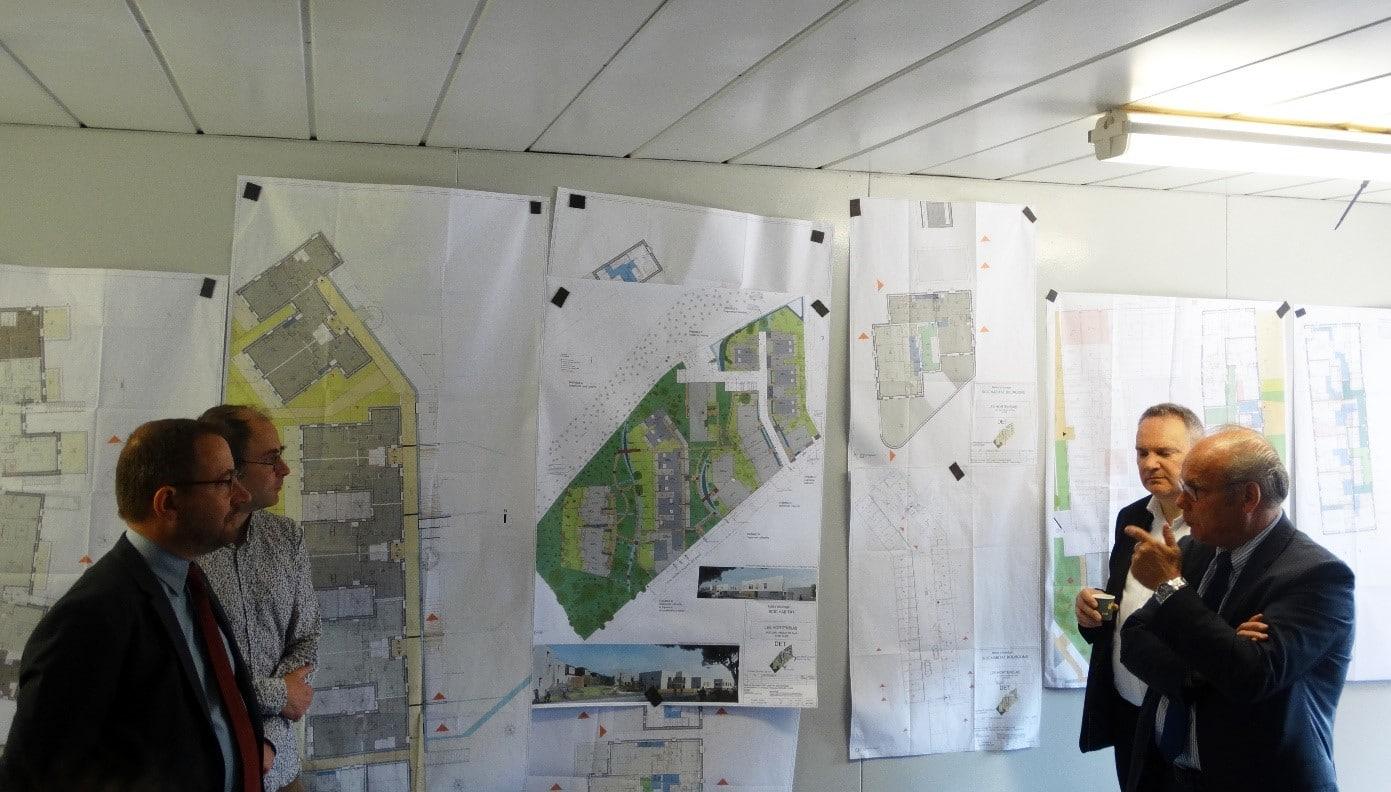 Présentation du projet par l'architecte d'Atelier CALC