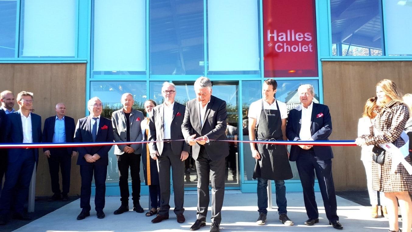 Inauguration Halles de Cholet
