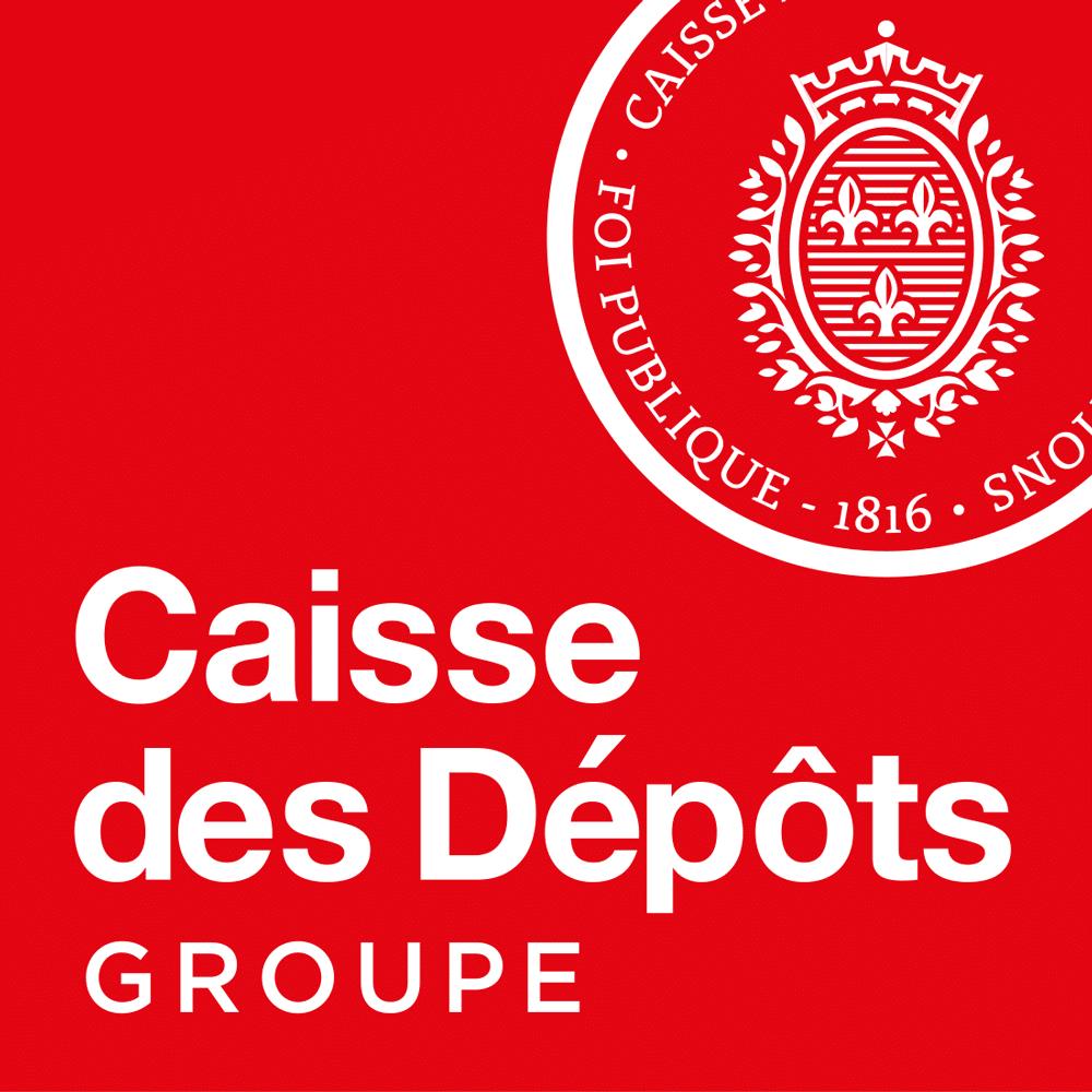 Logo Caisse des Dépôts groupe
