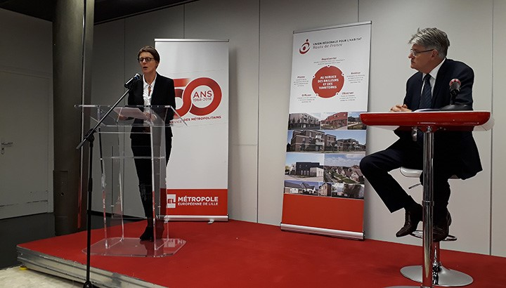 Inauguration partenariat à Lille