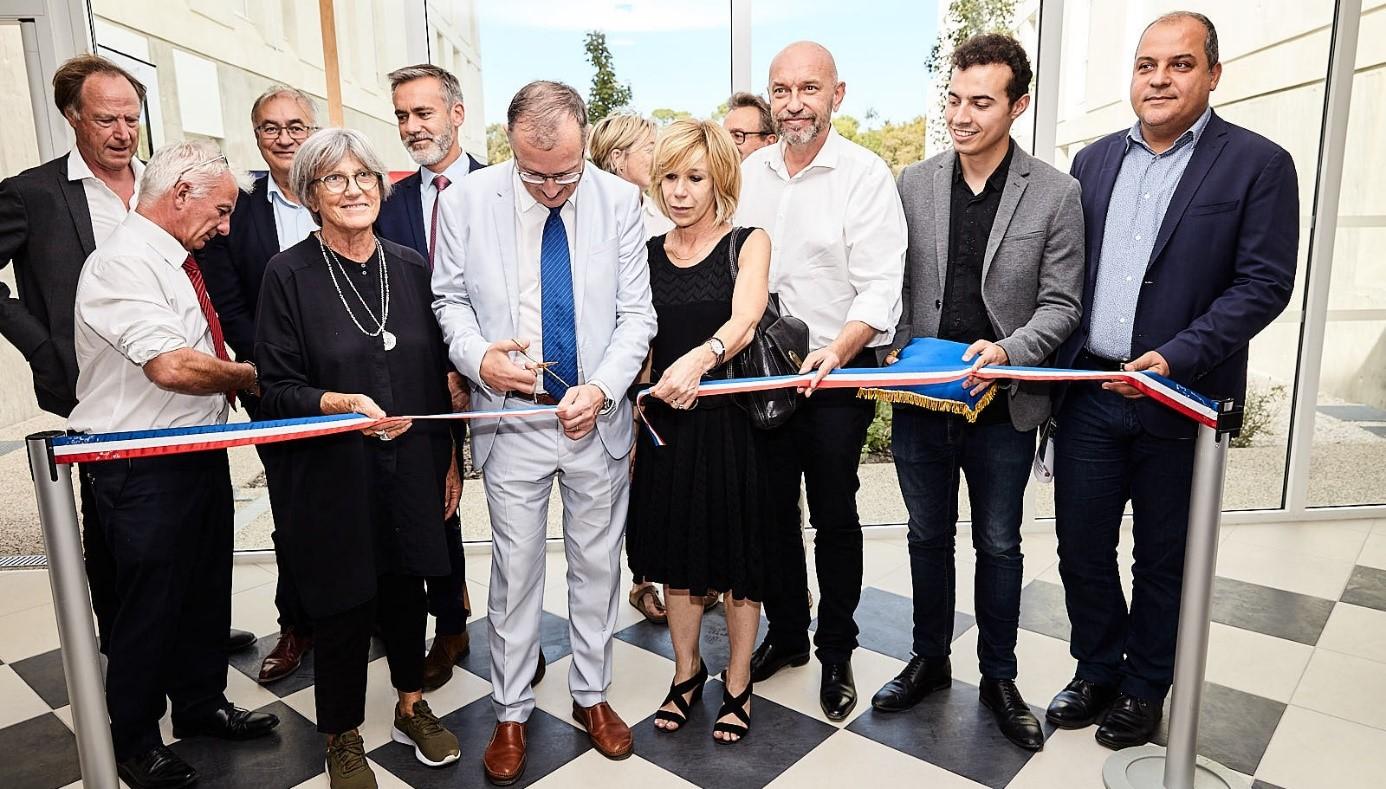 152 studios inaugurés à la résidence universitaire Veyrassi à Montpellier (34)