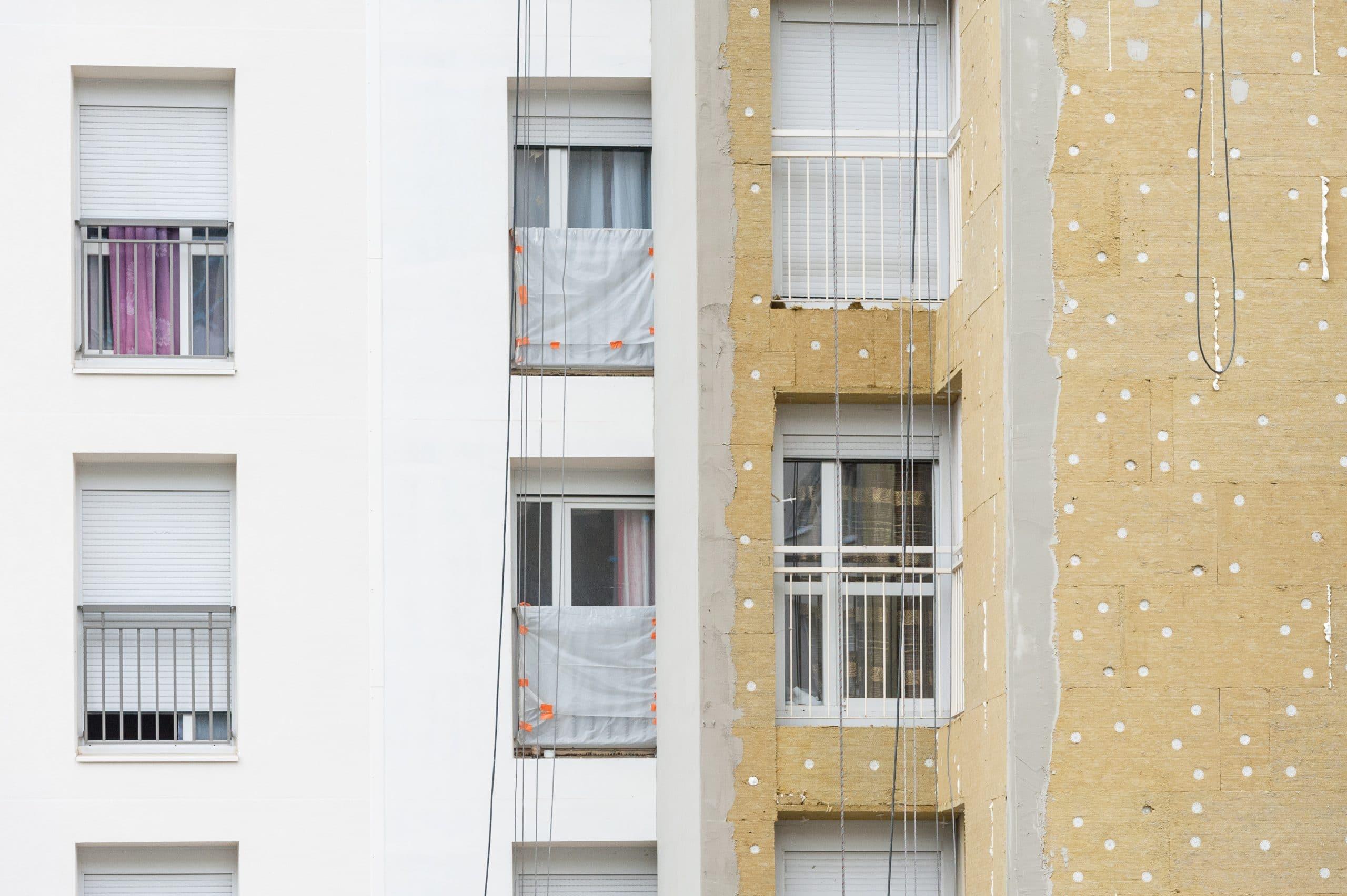 LYON - Rehabilitation d'une residence