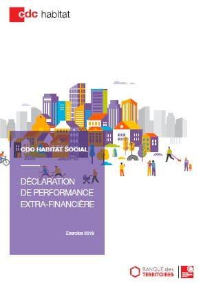 CDC Habitat social : déclaration de performance extra-financière 2019