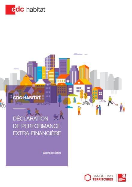 CDC Habitat : déclaration de performance extra-financière 2019