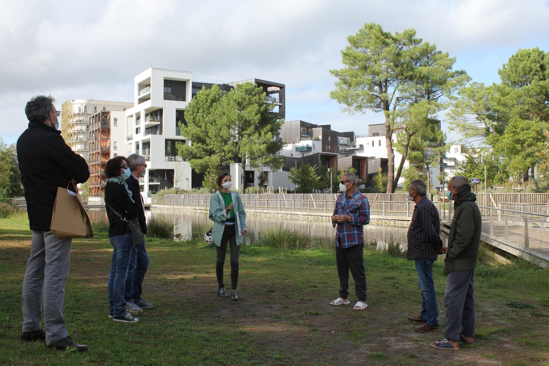 Nos locataires invités à (re)découvrir leur éco-quartier Ginko à Bordeaux