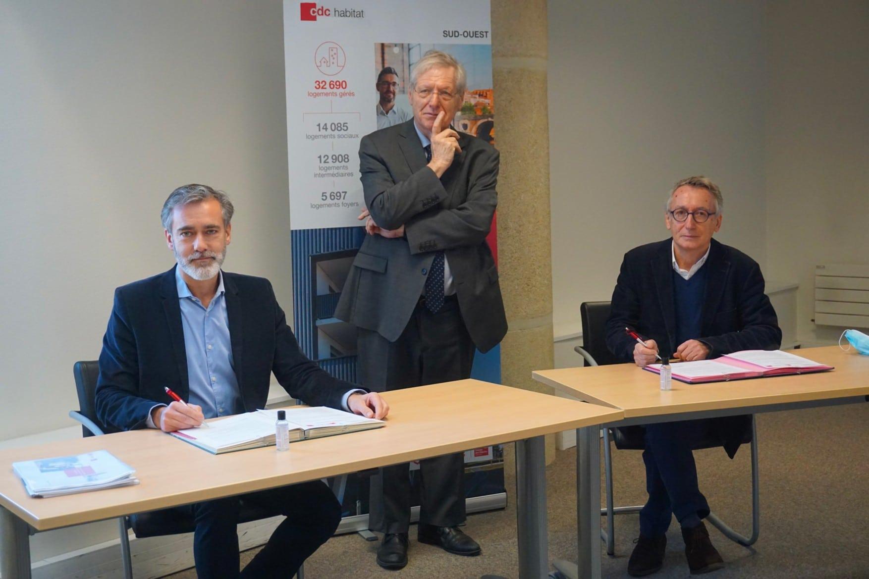 Un partenariat pour soutenir le logement des familles défavorisées en Gironde (33)