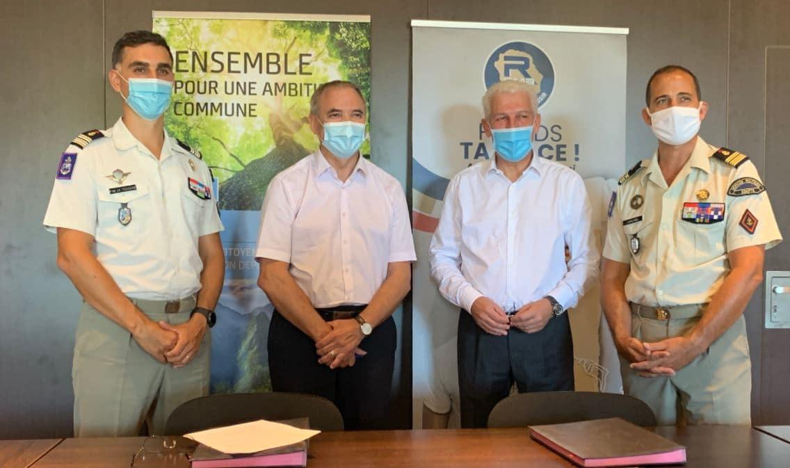 A La Réunion, un partenariat avec le service militaire adapté pour orienter les jeunes locataires vers l'emploi