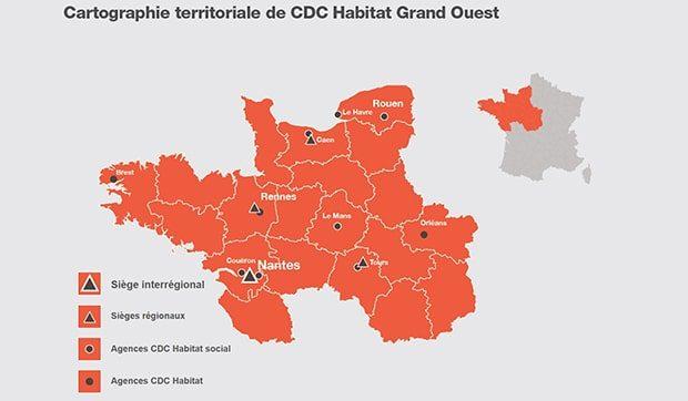 Organisation : CDC Habitat mise sur la proximité