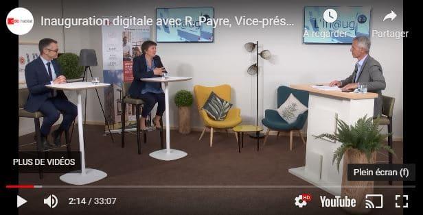 Inauguration digitale en Auvergne Rhône Alpes : une première pour CDC Habitat