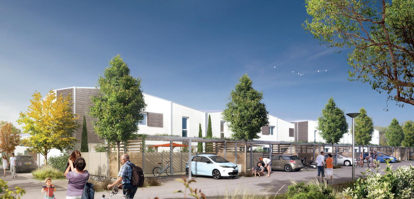 A Chambray-lès-Tours, des logements de qualité au cœur d'un écoquartier
