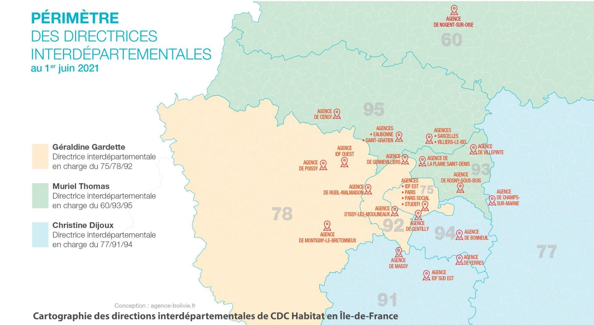 Trois directrices interdépartementales pour renforcer le lien avec les territoires