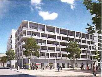 Visite du chantier de la future résidence «Le Live» à Lyon