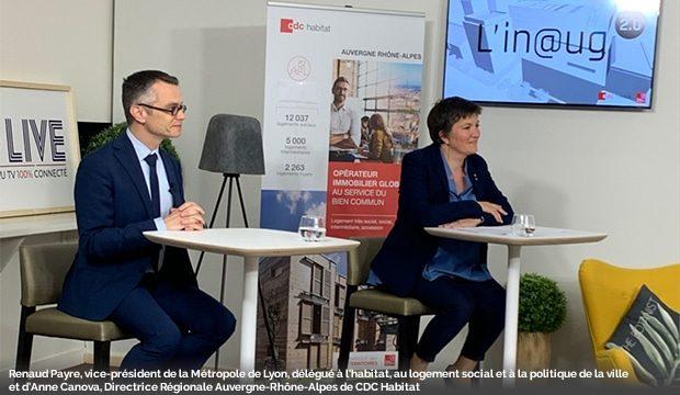 Un événement digital pour parler rénovation avec la Métropole de Lyon