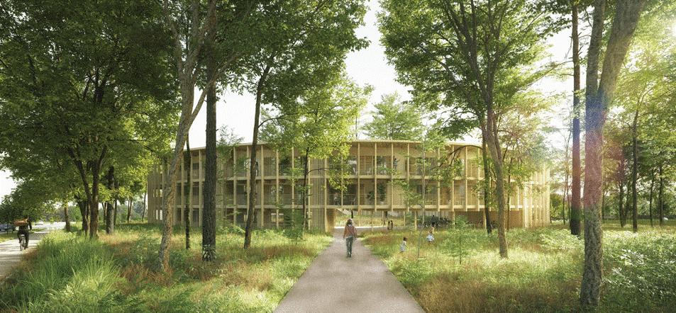 CDC Habitat choisit Régis Roudil Architectes pour un projet de logement social à Cornebarrieu (31)